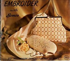 Embroider with Semco vintage catalogue features 80 products catalog craft sewing