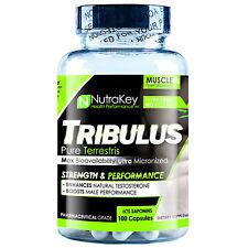 NutraKey TRIBULUS 1000mg 100 Capsules