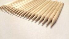 20+ Cuticle Pedicure Manicure Orange Wood Sticks Cosmetics Wooden