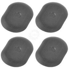 OEM 4440486 Bed Body Drain Plug Black Plastic Oval Set of 4 for Dodge Ram Dakota