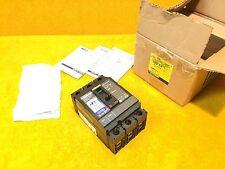 New Square D Hj150 Powerpact Hjl36100Sa 100 Amp 3-Pole 600 Volt Breaker