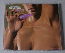 CD : GROOVE COVERAGE 'Poison' (6 Mixe) - rare Pressung!