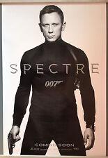 Cinema Poster: JAMES BOND SPECTRE 2015 (White Advance One Sheet) Daniel Craig