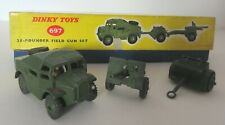 Dinky Toys Army Military Artillery 25 Pounder Field Gun Set - Dinky Toys