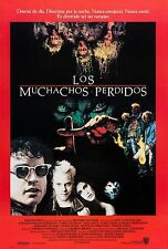 THE LOST BOYS (1987) ORIGINAL MOVIE POSTER  -  U.S. SPANISH ONE-SHEET -  ROLLED