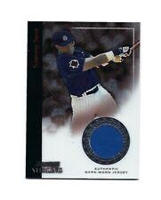 2004 Bowman Sterling Sammy Sosa Gu Jersey Baseball Card