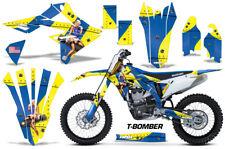 Suzuki RMZ450 RMZ 450 Graphics Kit Dirt Bike Wrap Decals Stickers 2018 TBOMBER