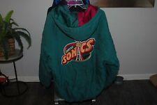 Vintage Sonics puffer jacket Size XL