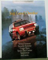 1994 Jeep Grand Cherokee Dealer Accessories Brochure Folder Mopar