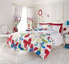 Modern Style Fashion Butterfly Double Duvet Cover Set 1 Pillowcase