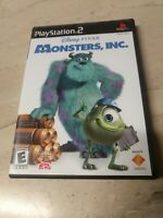 Disney Pixar Monsters, Inc. PlayStation 2 PS2
