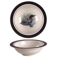 Folkcraft Loon Lake Round Vegetable Bowl 5938265
