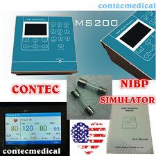 CONTEC MS200 NIBP Simulator Non-Invasive Blood Pressure simulation COLOR LCD,New