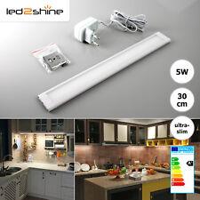 LED Schrankbeleuchtung warmweiß 5W 30cm Lichtleiste Unterbauleuchte Küchen Lampe