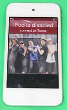 Apple Ipod Touch 4th Generation White 8GB Model A1367 ** Cracked Screen