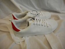 Women's Rue 21 White & Red Casual Shoes Size X-Large 10 NEW