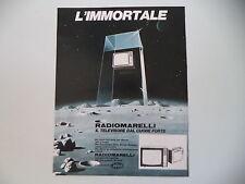 advertising Pubblicità 1970 TELEVISORI RADIOMARELLI