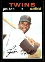 1971 Topps Jvb441 Jim Holt Minnesota Twins #7