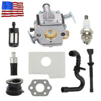 Carburetor Kit for STIHL MS170 MS180 017 018 ZAMA 1130 120 0603 Chainsaw Carb US