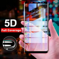 5D Full Cover Temper Glass Screen Protector Film Guard For Samsung Galaxy Note 9