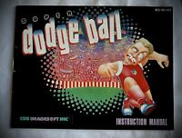 Super Dodge Ball - NES Nintendo Instruction Manual Booklet Only