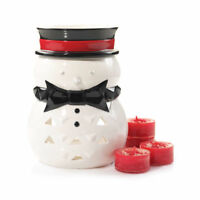 Yankee Candle Holiday Luminary Jackson Frost Snowman TeaLight Candle Holder A300