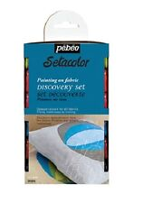 PEBEO SETACOLOR FABRIC PAINT 12 x 20ML OPAQUE TEXTILE MATERIAL PAINTING HOBBY