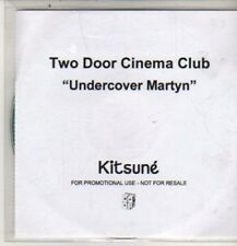 (DE75) Two Door Cinema Club, Undercover Martyn - 2010 DJ CD