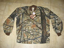 NEW Ideal Apparition 3D Camo UnLined Bomber Jacket, Zipper Front Size Large LG L