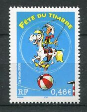 FRANCE 2003, timbre 3546, LUCKY LUKE, FETE du TIMBRE, neuf**, MNH COMICS STAMP