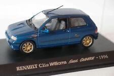 RENAULT CLIO WILLIAMS SWISS CHAMPION 2.0 16V 1996 1/43 SPORT UNIVERSAL HOBBIES