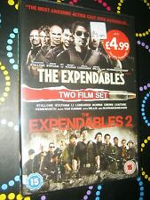 The Expendables / The Expendables 2 {DVD} 2 FILMS - NEW & SEALED - FREEPOST