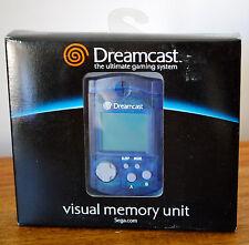 Carte mémoire (Visual Memory Unit) pour SEGA DREAMCAST Neuve dans sa boite !