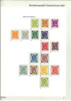 Luxus BRD Sammlung 1949-1984 ** mit Posthorn - Schlegel BPP - Mi. 5700,-