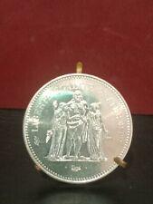 Piece de 50 Francs Hercule  1974  Argent Superbe