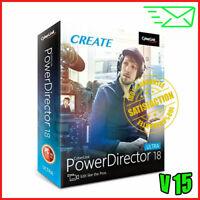 ⭐Offer⭐CyberLink PowerDirector Ultimate 18 -LifeTime-Multilingual✔️Fast Delivery
