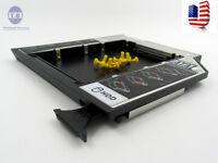 US SATA 2nd HDD SSD Hard Drive Caddy ejector for Dell Latitude E6400 E6410 E6510