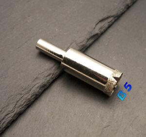 Fliesenbohrer Glasbohrer Diamantbohrer Lochsäge Bohrkrone Ø 13 mm (B 5)