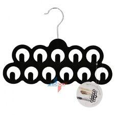 11 Hook Hanger - Non Slip Hanging Tie Scarf Jewellery Belt Organiser Rack Hanger