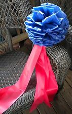 USMC Marine Corps BOW ~ outside ~ 12 inches ~ honor our Marines ~ navy and red