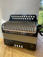 More details for hohner erica melodeon black d/g with straps and gig bag. little used