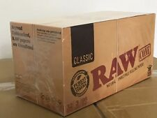 RAW King Size Cones 110mm Pre Rolled Tobacco Paper Rolling Cone Full Box X32