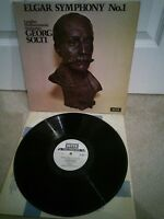 "SXL Elgar Symphony No.1 London Philharmonic, Solti NM 12"" Vinyl LP"