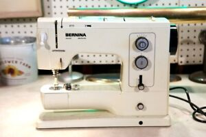Bernina 830 Record Sewing machine, TESTED (See Video), SELLING FOR PARTS!