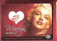MARILYN MONROE WORN USED Red LIPSTICK RELIC MEMORABILIA CARD 2008 BREYGENT