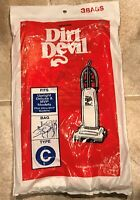 3M Vacuum Bags For Dirt Devil Type C Upright & Deluxe 3 Pack 3700147001 NEW
