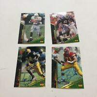 Lot Of (29) 1995 Signature Rookies Draft Signed Autographed Football Cards