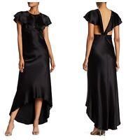 NEW $418 ABS by Allen Schwartz Vintage in Dress Black [ SZ 0 ] #E380