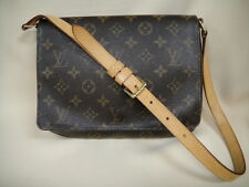 Authentic Louis Vuitton Musette Tango Monogram Handbag