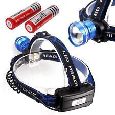 3000lm CREE T6 LED Head Torch Headlamp Headlight + 18650 Battery BX